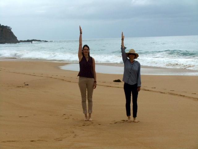 Ganzheitliches Körpertraning in Australien