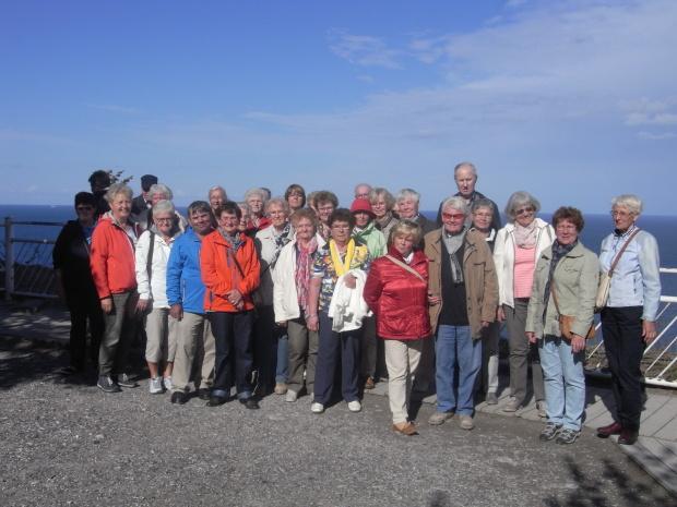 Gruppenbild vor der Abfahrt nach Hiddensee
