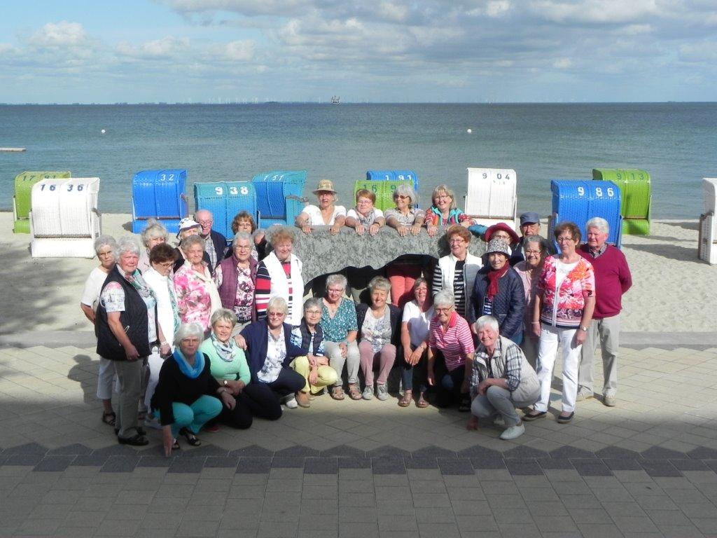 Foto Föhr 2017 Reise der Heiglgruppen nach Föhr Ulla Wolf